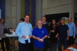 Premievinnere i NM individuelt: Thomas Kolåsæter, Dag Fjeldstad, Ole Martin Halck, Trine Aalborg, Espen Kibsgård og Lars Heggland
